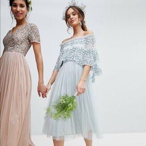 ASOS periwinkle dress